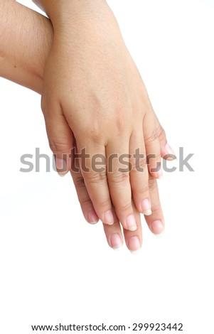 Pregnant Women Edema Foot Stock Photo 392200999 - Shutterstock