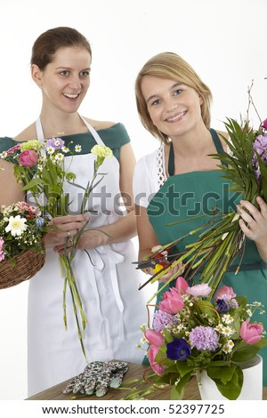 two florists