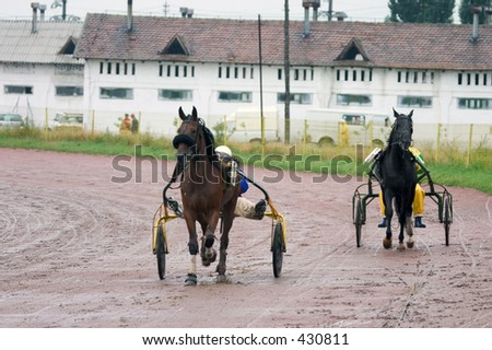 Two Horse Racing Teams