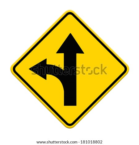 two intersection sign