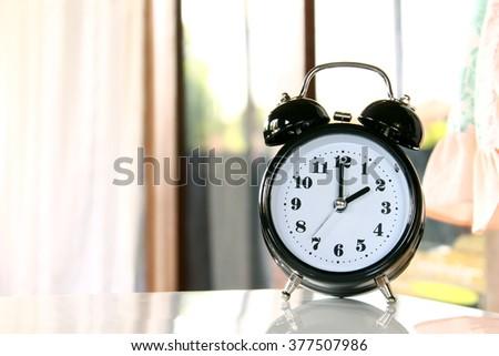 Two o'clock - stock photo