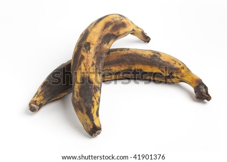 Two South American bananas, plantains