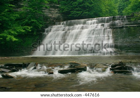 Two Tiered Waterfalls