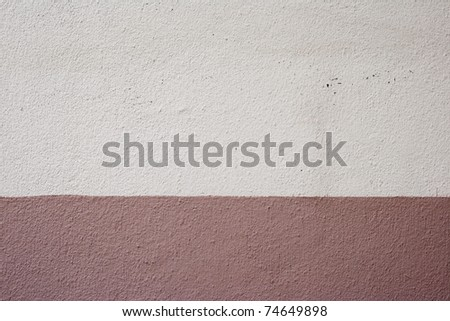 Two tone Wall concrete texture - stock photo