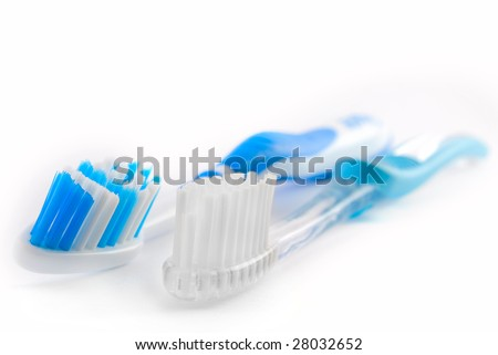 two tooth brushes