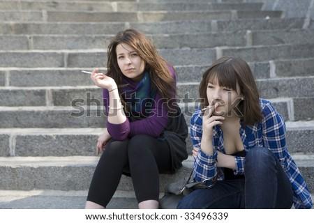 free smoking teen pic