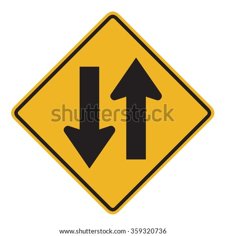 Two-Way - stock photo