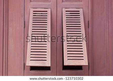 Two Windows on The Windows(1) - stock photo