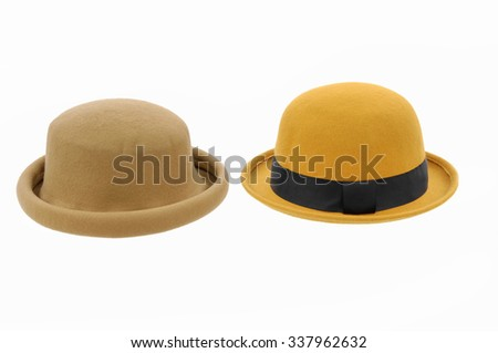 Two woman hat    - stock photo