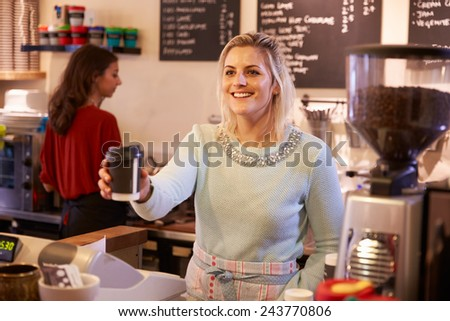 Two Women Running Coffee Shop Together