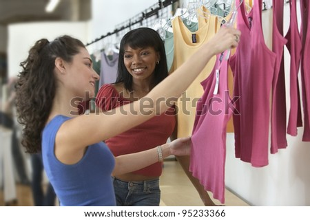 Women Clothes Shopping Stock Photo - Image: 26730380