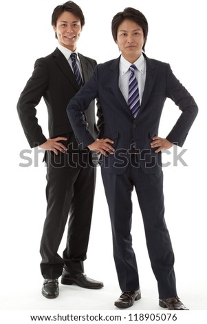two young businessman