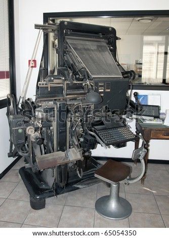 Typecasting machine (Intertype)