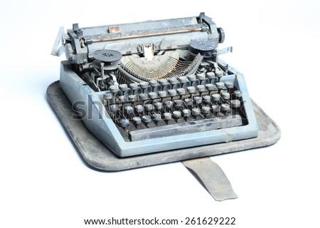Typewriter 2 - stock photo