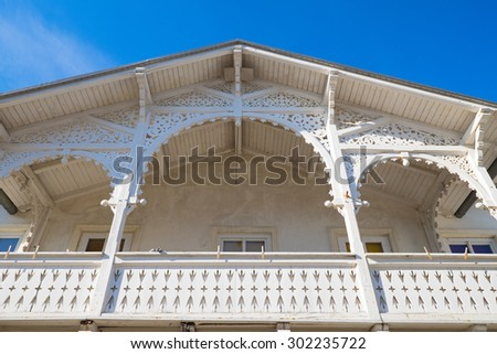 Typical architecture - stock photo