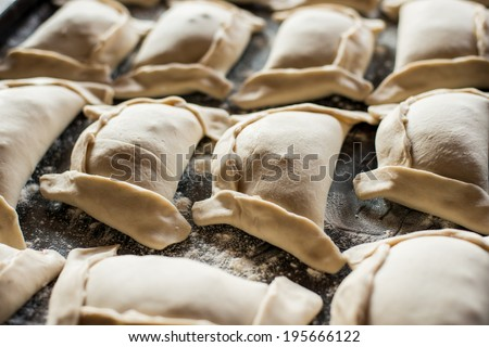 Typical Chilean Pie - stock photo