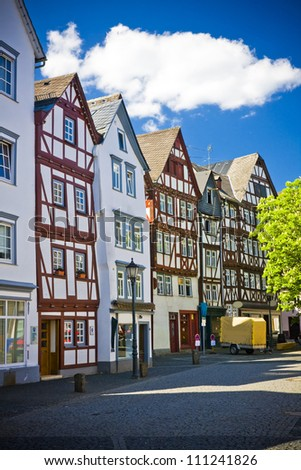 Typical German city - Herborn