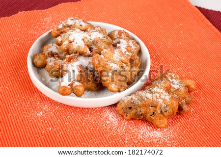typical small cakes - stock photo