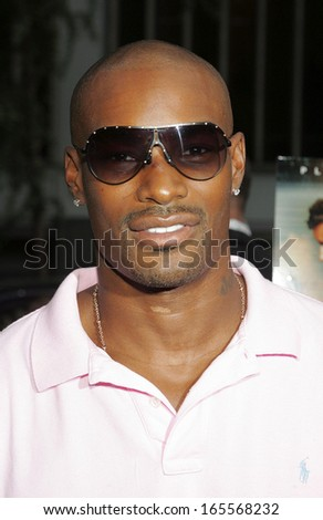 Tyson Beckford at THE ISLAND Premiere, The Ziegfeld Theater, New York, NY, July 11, 2005