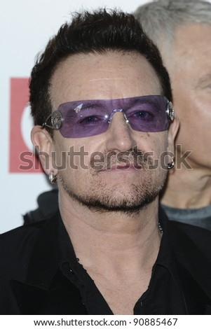 U2's Bono arriving for the Q magazine Awards 2001 at the Grosvenor House Hotel, London. 24/10/2011 Picture by: Steve Vas / Featureflash