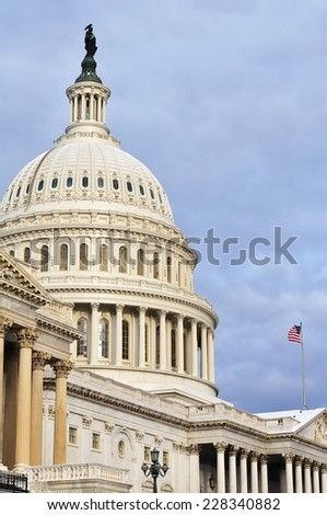 U.S. Capitol (Washington DC, USA)