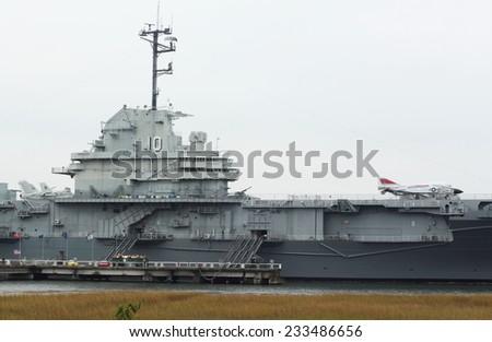 U.S. Military Ship - stock photo