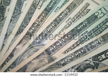 U.S. Money - stock photo