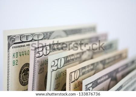 U S Paper Money - stock photo