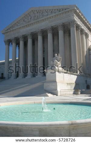 U.S. Supreme Court - stock photo