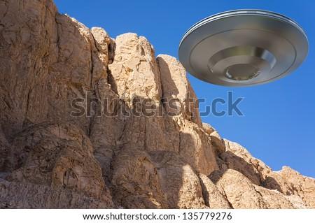 ufo - stock photo