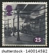 UK - CIRCA 1994: A stamp printed in UK shows image of the Class A1 No. 60149 Amadis at Kings Cross, circa 1994. - stock photo