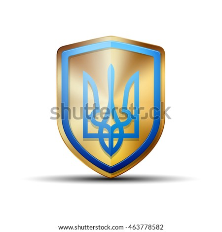 Ukraine shield sign