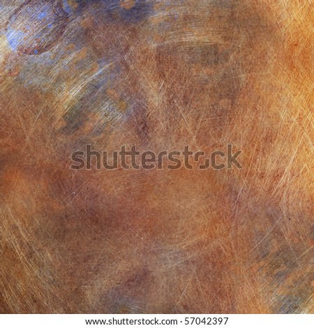 Ultra grunge scratched background texture - stock photo
