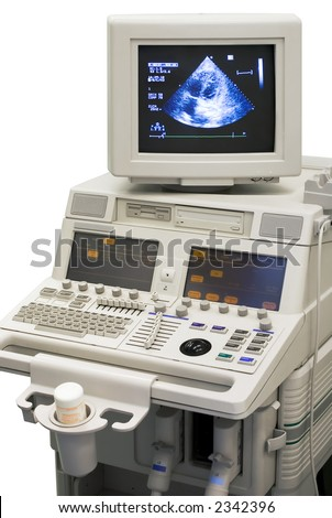 ultrasonic medical device - stock photo