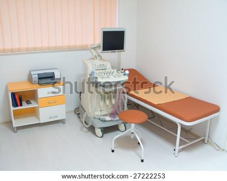 Ultrasound equipment - stock photo