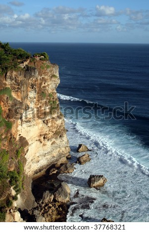 Uluwatu Bali - stock photo