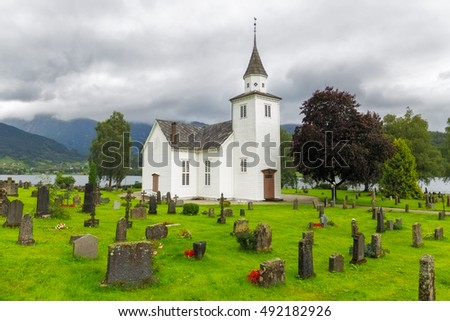 Ulvik wooden church, Norway