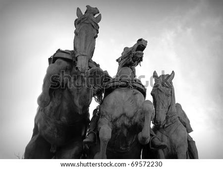 Ulysses S. Grant Memorial - stock photo