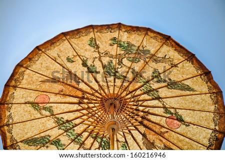 Umbrella Thai style - stock photo