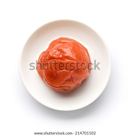 Umeboshi - stock photo