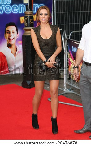 Una Healy arriving for The Inbetweeners, The Movie, film premiere at the Vue Leicester Square, London. 16/08/2011 Picture by: Alexandra Glen / Featureflash