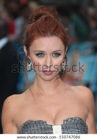 Una Healy arriving for the 'We're The Millers' European Premiere, Odeon West End, London. 14/08/2013