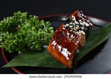 Unagi Sushi - japanese food style - stock photo