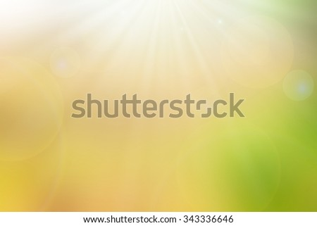 Under bright sun natural backgrounds - stock photo