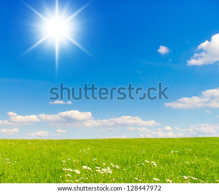 Under Sun Dream Wallpaper - stock photo