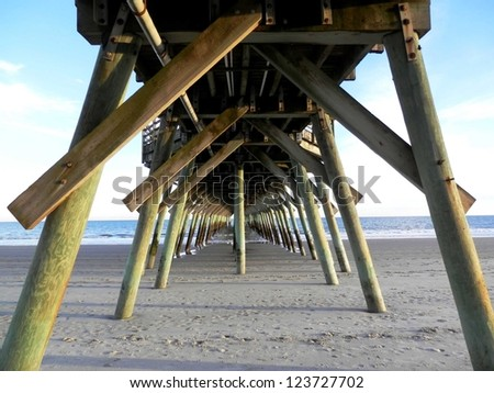 Under the Fishing Pier