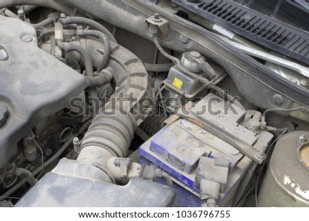 Under Hood Duct Hose Transfer Air Stock Photo (Royalty Free ...