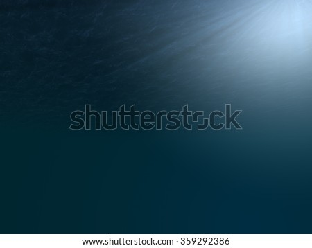 Under Water - stock photo