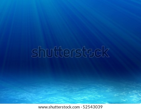 underwater background - stock photo
