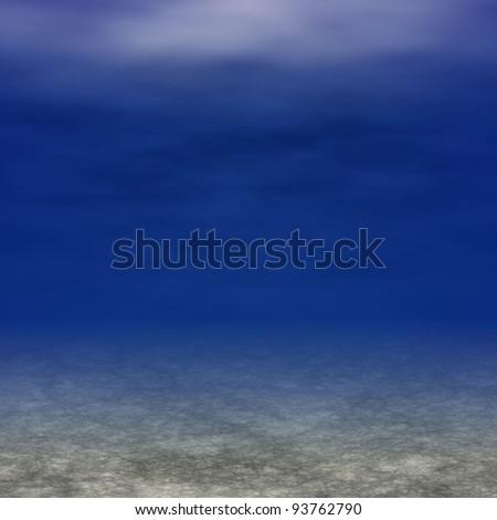 underwater scene for background - stock photo